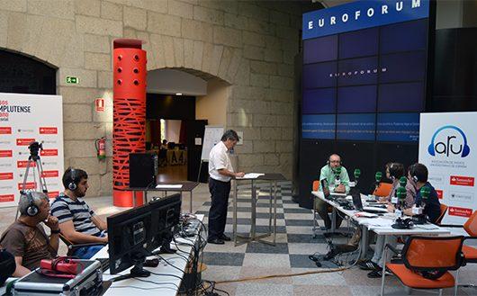 ARU代表也出席了在埃斯科里亚尔举办的西班牙和拉美大学电台讲习班
