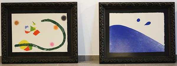 UNEATLANTICO下周四将展出米罗的32幅作品