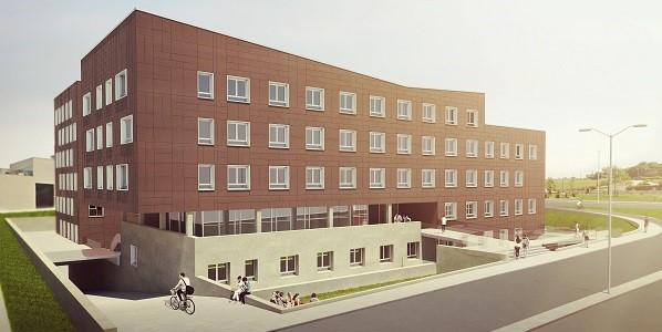 大学新宿舍即将建成,将提供给教师、学生和研究人员