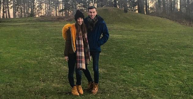 两名翻译系的学生开始了他们在瑞典西部大学的交换生活