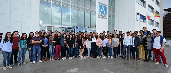 来自11个国家的学生拍摄的视频,凸显了UNEATLANTICO的国际性