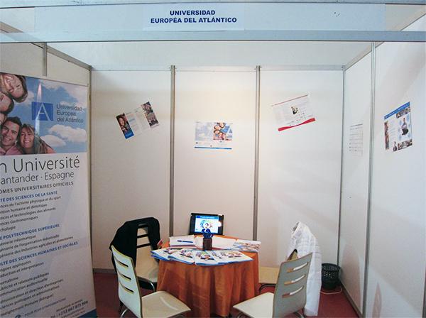 UNEATLANTICO参加在摩洛哥举办的首届西班牙教育展