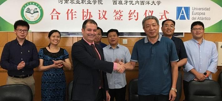 Rubén Calderón校长拜访中国多家大学和教育机构