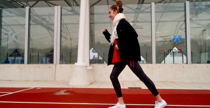 体育系的学生Noemí Cano获得了23岁以下欧洲十字架的子锦标赛
