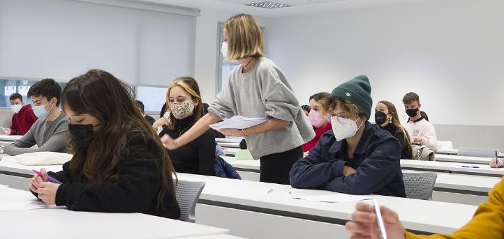 2020-2021学年第一学期的期末考试今天在UNEATLANTICO校园开始