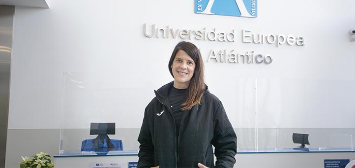 露西·贝蒂亚斯(Ruth Beitia)奥运奖牌获得者,UNEATLANTICO任课老师,评论了女性在体育运动中的作用