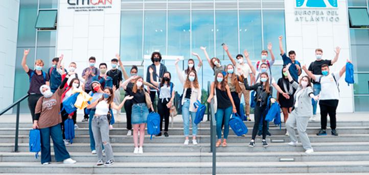 UNEATLANTICO 欢迎四十名来自 Erasmus 项目的学生来到校园