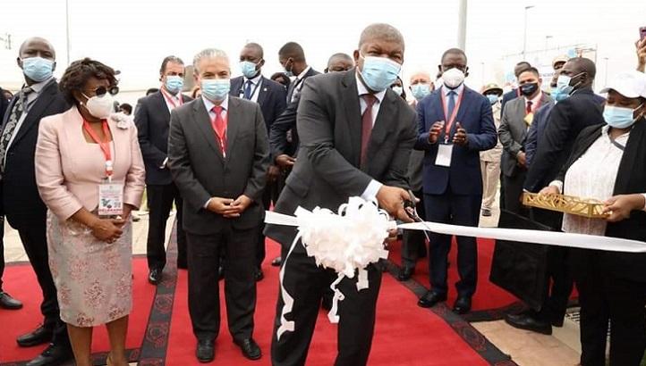 安哥拉总统为伊比利亚美洲大学基金会旗下的宽扎国际大学揭幕